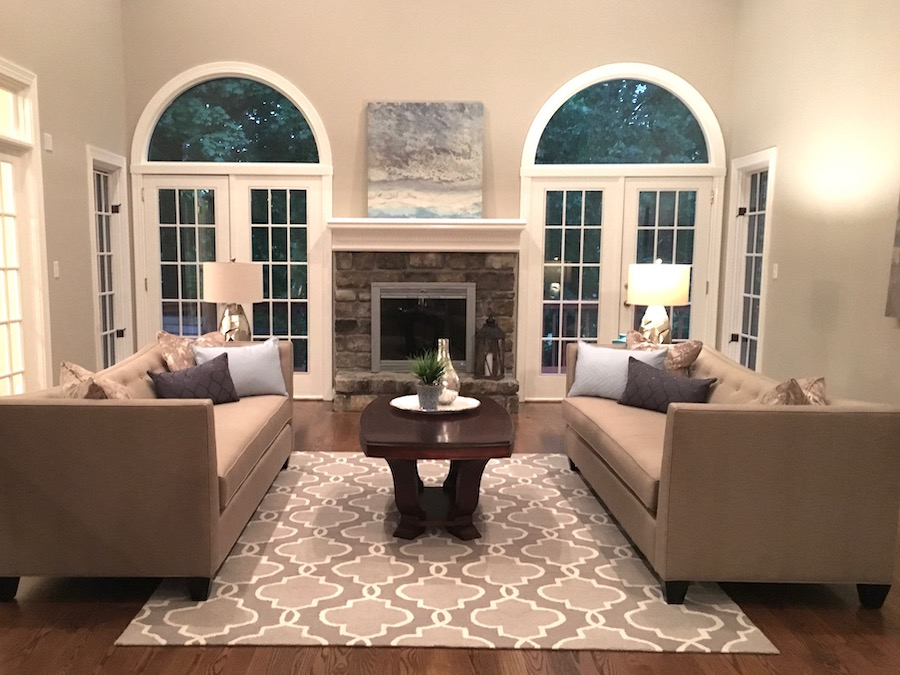 Home Staging for Living Room