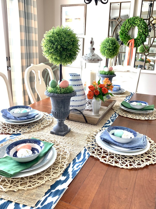 Decorate Your Dining Table for Spring