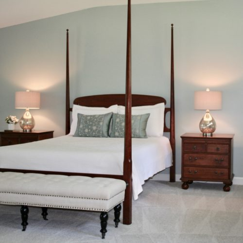Master Bedroom Color And Staging