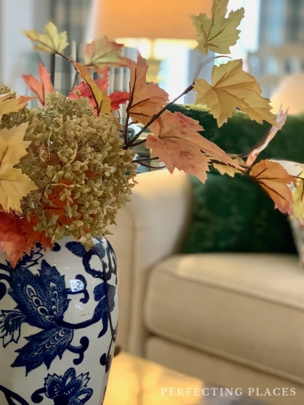 Fall Decorating Ideas -- Chinoiserie