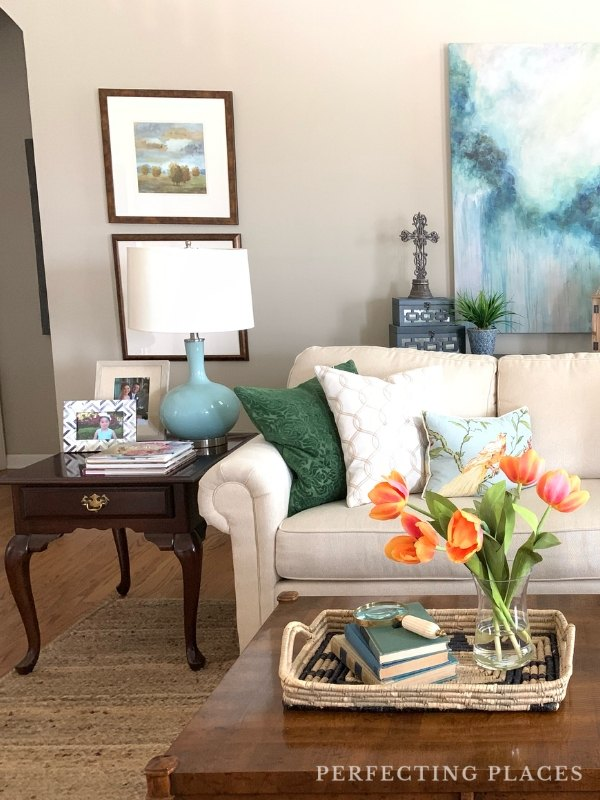 Living Room Decor by Perfecting Places Interiors
