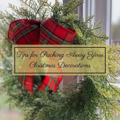 Tips for Packing Away Your Christmas Decorations